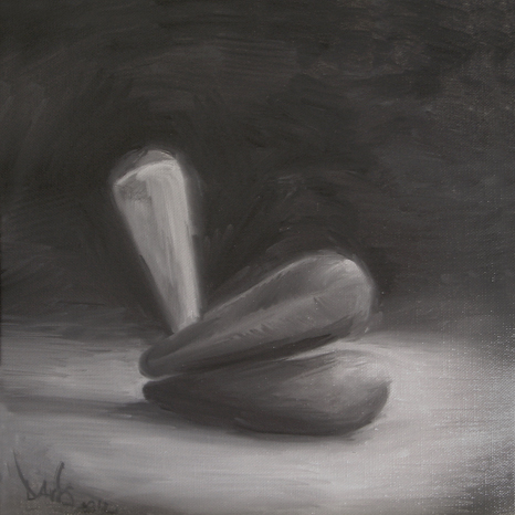 2012, oil on canvas, 11,8 x 11,8 in