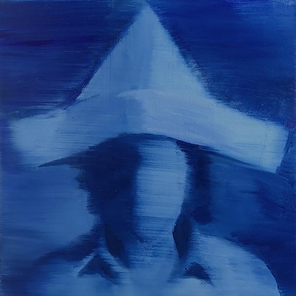 2017, oil on canvas, 30 x 30 cm